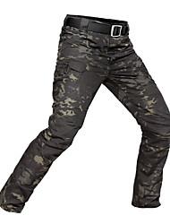 baratos -Homens Calças de Trilha Ao ar livre Secagem Rápida, Respirabilidade, Vestível Calças Equitação / Alpinismo / Exercicio Exterior