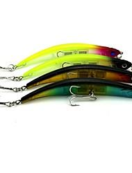 baratos -4 pcs Isco Duro / Ganchos de Pesca / Iscas Isco Duro Plástico / Aço de Carbono Instalação Fácil / Leve e conveniente / Fácil Uso Pesca de Mar / Isco de Arremesso / Rotação / Pesca de Carpa