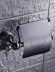 Недорогие -Полка для ванной Новый дизайн / Cool Modern Латунь 1шт Держатели для туалетной бумаги На стену