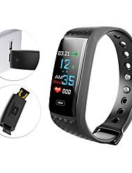 Недорогие -Indear YY-CK17s Умный браслет Android iOS Bluetooth Спорт Водонепроницаемый Пульсомер Измерение кровяного давления / Сенсорный экран / Израсходовано калорий / Длительное время ожидания / Педометр