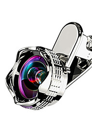 Недорогие -Объектив для мобильного телефона Широкоугольный объектив / Макролинза Акрил 10Х и более 0.01 m 70 ° Линза / объектив в чехле