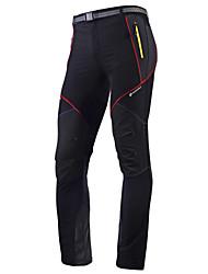 abordables -Nuckily Homme Pantalons de Cyclisme Vélo Pantalon / Surpantalon / Collants / Bas Etanche, Séchage rapide, Résistant aux ultraviolets Classique Polyester Printemps, Eté Noir Tenues de Cyclisme