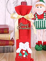 baratos -Sacos e Transportadores de Vinho Natal / Férias Não-Tecelado Cubo Novidades Decoração de Natal