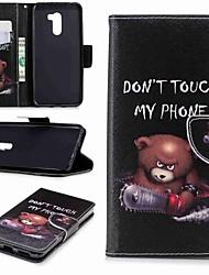 abordables -Coque Pour Xiaomi Xiaomi Pocophone F1 / Redmi 6 Portefeuille / Porte Carte / Avec Support Coque Intégrale Mot / Phrase Dur faux cuir pour Redmi Note 5A / Xiaomi Redmi Note 5 Pro / Xiaomi Redmi Note 6