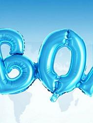 Недорогие -Воздушные шары Буквы Творчество Вечеринка Декорации для вечеринок 1шт