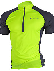 Недорогие -Nuckily Муж. С короткими рукавами Велокофты - Розовый Серый Светло-Зеленый Пэчворк Велоспорт Джерси Верхняя часть, Дышащий Быстровысыхающий Ультрафиолетовая устойчивость Полиэстер