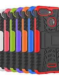 abordables -Coque Pour Xiaomi Redmi 6 / Redmi 5A Antichoc / Avec Support Coque Carreau vernisé / Armure Dur PC pour Redmi Note 5A / Xiaomi Redmi Note 4X / Xiaomi Redmi Note 4