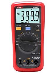 Недорогие -uni-t ut136c + цифровой мультиметр ncv индукционный многофункциональный измеритель емкости для сжигания