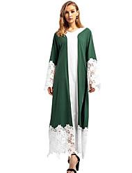 baratos -Mulheres Para Noite balanço Vestido Decote V Longo