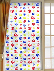 cheap -Window Film & Stickers Decoration Ordinary Character PVC(PolyVinyl Chloride) Window Sticker / Adorable