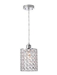 Недорогие -современные мини-хрустальные подвесные светильники гальванические хромированные комнаты для прихожей детская комната входной светильник e26 / e27 лампа база