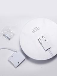 Недорогие -1шт 24 W 2400 lm 130 Светодиодные бусины Простая установка LED даунлайт Белый 85-265 V Дом / офис Гостиная / столовая Спальня