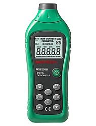 abordables -mastech ms6208b lcd tachymètre laser photo numérique t / mn sans contact tacometro vitesse de rotation 50rpm-99999rpm