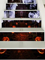 economico -Adesivi per pavimenti - Adesivi aereo da parete Halloween Cucina / Al Coperto
