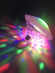 abordables -diamant de brelong led lumière de baignoire de projection étanche 1 pc
