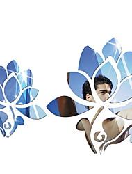 Недорогие -Декоративные наклейки на стены - Зеркальные стикеры Геометрия Гостиная