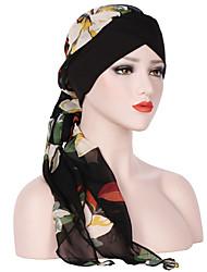 Недорогие -Жен. Классический / Праздник Широкополая шляпа Цветочный принт