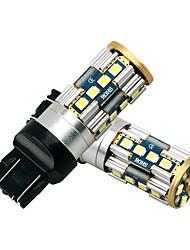 Недорогие -2pcs T20 (7440,7443) / T20 Автомобиль Лампы 21 W SMD 3030 1680 lm 20 Светодиодная лампа Лампа поворотного сигнала Назначение