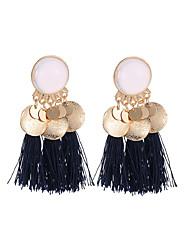 abordables -Femme Glands Stylé Boucles d'oreille goutte - Créatif, Pointe Gland, Bohème Or / Blanc / Vert foncé / Bleu Marine Pour Carnaval Mascarade