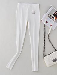 olcso -Női Napi Sportos Legging - Egyszínű Közepes csípő