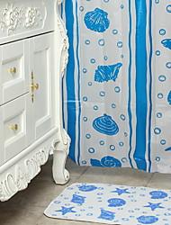 Недорогие -Шторка для ванной Modern ПВХ механически Водонепроницаемый / Новый дизайн / Cool Ванная комната