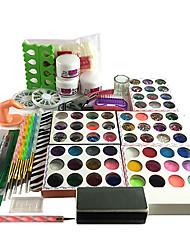 abordables -Kit Acrylique Universel Manucure Manucure pédicure Basique Quotidien