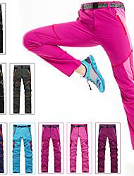 baratos -Mulheres Calças de Trilha Ao ar livre A Prova de Vento, Secagem Rápida, Vestível Calças Pesca / Equitação / Resistente a UV