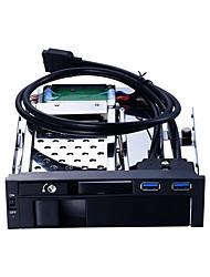 Недорогие -Unestech Корпус жесткого диска Автоматическое конфигурирование / Случаи с светодиодной подсветкой / Многофункциональный Нержавеющая сталь / Алюминиево-магниевый сплав ST7223U