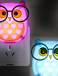 billige Originale lamper-1pc LED Night Light AC- Drevet Tegneserie / Nytt Design / Verneutstyr <=36 V