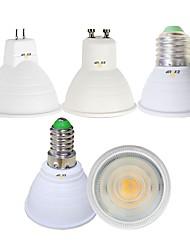 abordables -EXUP® 5pcs 5 W 450 lm E14 / GU10 / MR16 Spot LED 1 Perles LED COB Blanc Chaud / Blanc Froid 85-265 V
