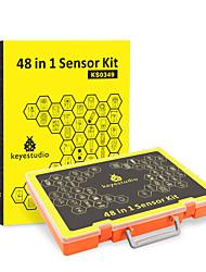 Недорогие -бесплатная доставка! Keyestudio 48 в 1 сенсорном комплекте