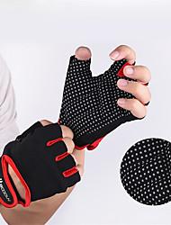 billiga -Träningshandskar / Tyngdlyftande handskar Med Lycra / superfin fiber Stretch, Hållbar Andningsfunktion För Herr / Dam Motion & Fitness / Gym / Tyngdlyftning händer
