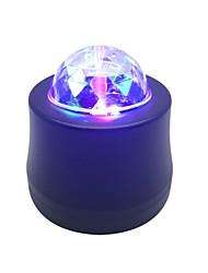 Недорогие -1pc led usb rgb ambient car light flash автоматическое вращение авто подсветка автомобиль окружающий свет 5v флирт романтика для праздника