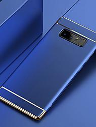 Недорогие -Кейс для Назначение SSamsung Galaxy Note 9 / Note 8 Покрытие Кейс на заднюю панель Однотонный Твердый ПК