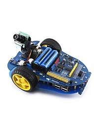 abordables -waveshare alphabot-ar-basic (en) alphabot kit de construction pour robot de base pour arduino