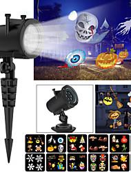 billige Originale lamper-1pc LED Night Light / Sky Projector NightLight / Wall Plug Nightlight Varm hvit AC- Drevet For barn / Søtt / Kreativ