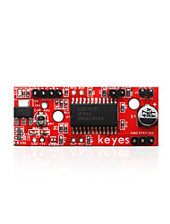 Недорогие -keyes a3967 доска водителя шагового двигателя красный охрана окружающей среды