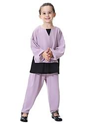 povoljno -Djeca Djevojčice Kolaž Dugih rukava Komplet odjeće