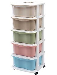 Недорогие -Кухонная организация Коробки для хранения Полипропилен Аксессуар для хранения 5 шт.