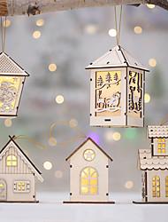 Недорогие -Орнаменты Дерево Свадебные украшения Рождество / Вечеринка / ужин Новогодняя тематика / Креатив / Урожай Theme Зима