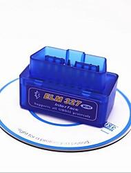 Недорогие -16pin для одного женского obd-ii elm327 для android iso15765-4 (can bus) / sae j1850 pwm / sae j1850 vpw диагностические сканеры автомобилей