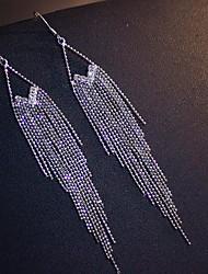 abordables -Femme Glands Boucle d'oreille - S925 argent sterling Pointe Elégant, Gland Argent Pour Mariage Rendez-vous