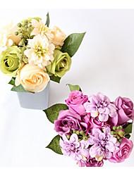 Недорогие -Свадебные цветы Букеты / Лепестки / Уникальный декор для свадьбы Свадьба / Для праздника / вечеринки Ткань 0-20cm