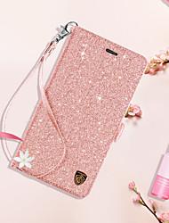 Недорогие -BENTOBEN Кейс для Назначение Apple iPhone 8 Plus / iPhone 7 Plus Кошелек / Бумажник для карт / со стендом Чехол Однотонный Твердый Кожа PU / ПК для iPhone 8 Pluss / iPhone 7 Plus / iPhone 6s