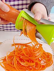 Недорогие -Кухонные принадлежности Пластик Простой / Инструкция Овощечистка & Терка Для фруктов / Для овощного / Необычные гаджеты для кухни 1шт