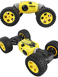 baratos -Carro com CR 9901 2.4G Rock Climbing Car / Off Road Car 1:16 Electrico Escovado 10-15 km/h Transformável / Sem Fio