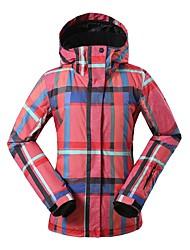 baratos -GSOU SNOW Mulheres Jaqueta de Esqui Óculos de Esqui, Esqui, Esportes de Inverno Esportes de Inverno POLY Blusas Roupa de Esqui