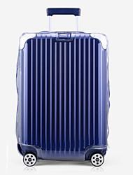 Недорогие -ПВХ Чехол для чемодана Молнии Белый