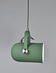 Недорогие -Оригинальные Подвесные лампы Рассеянное освещение Окрашенные отделки Алюминий Алюминий Регулируется, Новый дизайн 110-120Вольт / 220-240Вольт Лампочки не включены / E26 / E27