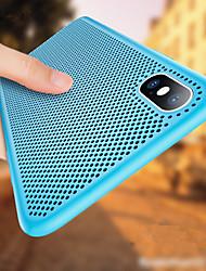 Недорогие -Кейс для Назначение Apple iPhone XR / iPhone XS Max Ультратонкий Кейс на заднюю панель Однотонный Мягкий ТПУ для iPhone XS / iPhone XR / iPhone XS Max